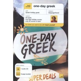[OUTLET] One-Day Greek. CD and booklet - Elisabeth Smith | Wmfra.org