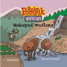Wodospad muflona. Żubr Pompik - Wyprawy - Tomasz Samojlik | Wmfra.org