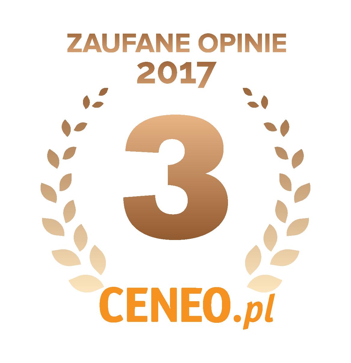 Zaufane opinie 2017 Ceneo.pl